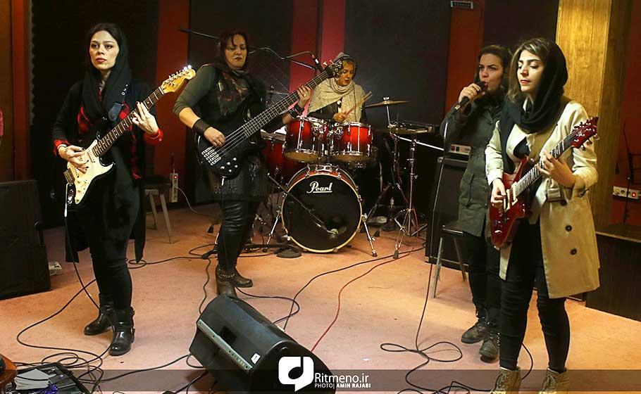 تشکیل گروه راک بانوان برای تغییر باورها/ صنم پاشا امضای خودش را دارد-مصاحبه ریتم نو